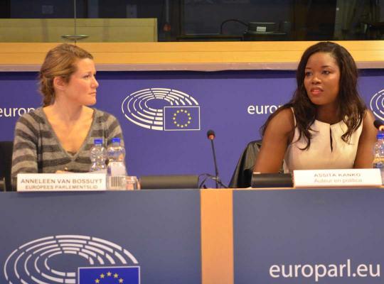 Anneleen Van Bossuyt en Assita Kanko
